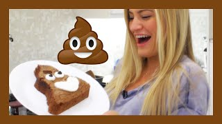 How To Make A Poop Emoji Brownie | iJustine Cooking | iJustine