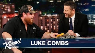 Download Luke Combs on His First Show & Wanting to Be a Homicide Detective Mp3 and Videos
