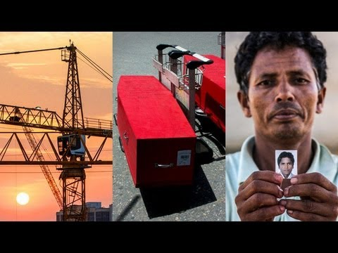 Qatar World Cup: the migrant workers forced to work for no pay | Guardian Investigations