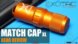 Exotac Matchcap XL Survival Match Case Review | OsoGrandeKnives