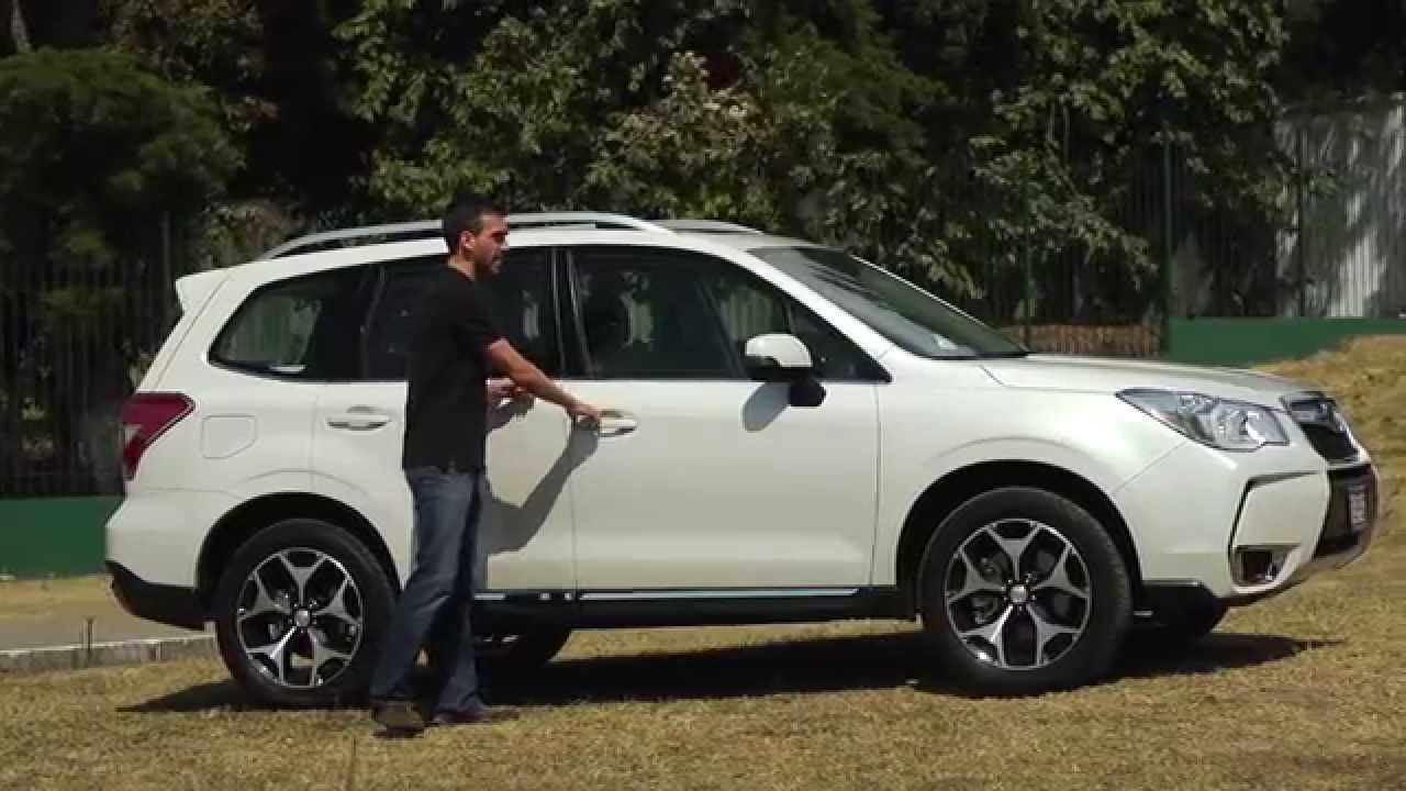 subaru forester xt 2015 - youtube