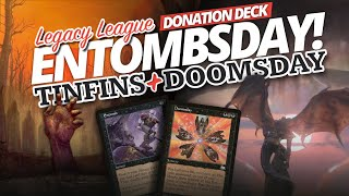 Entombsday — Tinfins meets Doomsday! Griselbrand Combo & Thassa's Oracle | Legacy League - 10/20/21
