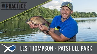 *** Coarse & Match Fishing TV *** The Practice - Les Thompson at Patshull Park