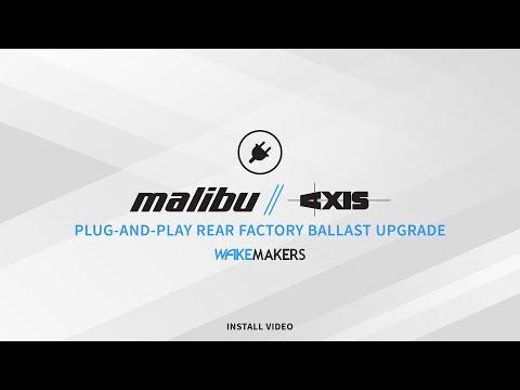 How-To: WakeMAKERS 2016+ Axis and Malibu Plug-and-Play Ballast Bag Install