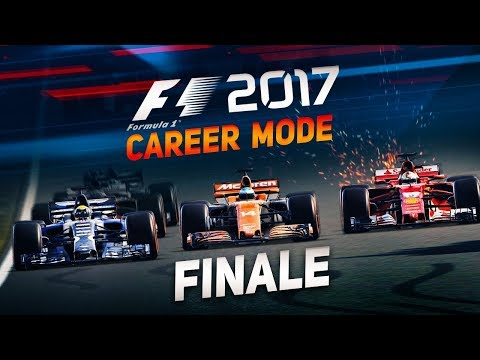 The Final Race of F1 2017 Career Mode