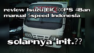 Review isuzu Elf 100PS 4Ban manual 5speed indonesia