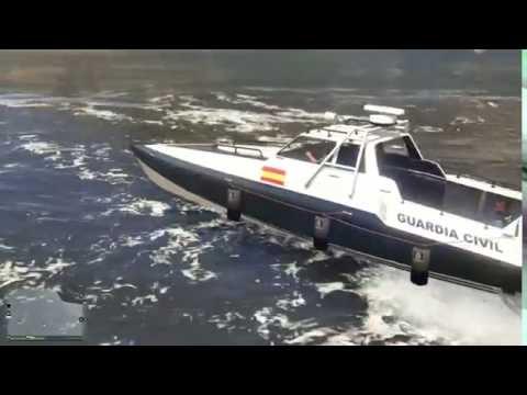 LSPDFR GTA 5 PC - Guardia Civil Servicio Marítimo Dia 01 (En prácticas).