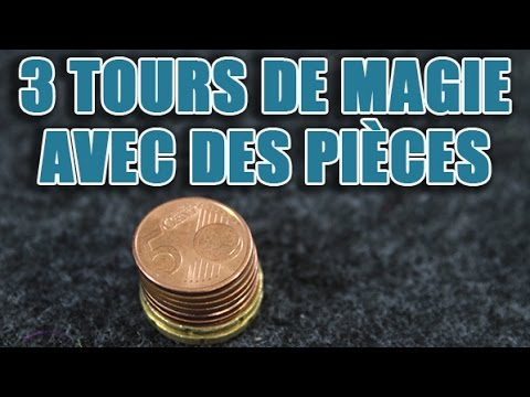 tour de magie avec 2 pieces