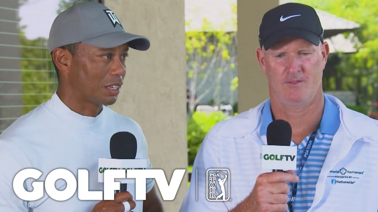 5a41543f4 Tiger Woods and Joe LaCava reflect on Round 3 of the Memorial Tournament