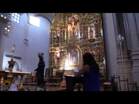 Rosario biblico en la Mision de san juan capistrano