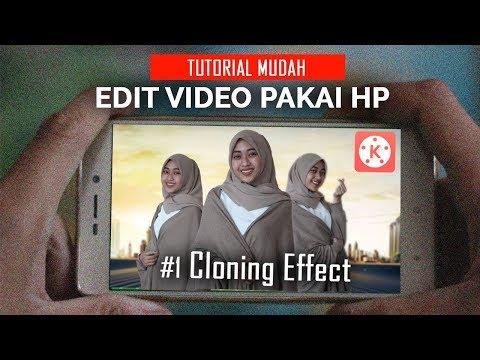 Cara Edit Video Pakai HP #1   Efek Kembar/ Cloning Effect