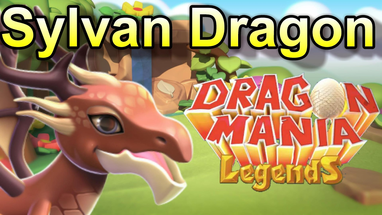Dragon Legends: How To Breed The SYLVAN Dragon Of The Week!