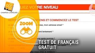 Testez votre niveau de français en 3 clics !