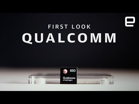 Qualcomm Snapdragon 850 First Look at Computex 2018