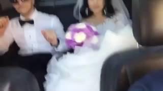 Свадьба в Махачкале,веселая парочка