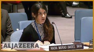 🏆Nobel Peace Prize shared by Nadia Murad, anti rape activist l Al Jazeera English