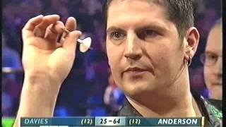 Darts bdo world championship 2003semi final - anderson v davies