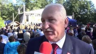 Wojewódzkie Dożynki w Olsztynku 18 09 2016