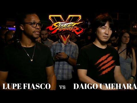 Street Fighter V: Lupe Fiasco vs Daigo Umehara!