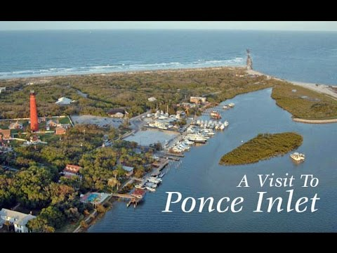 DJI Phantom 3 flight around Ponce Inlet (full version)