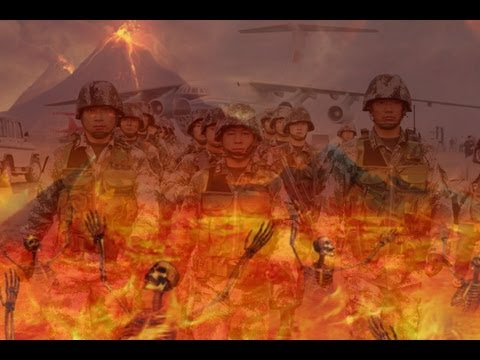 China -  Hell March - The Largest  Army in The World - Foot Drill at its Best..(latest)..