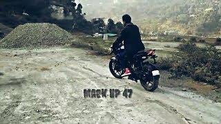 How we do it - Badshah - Whatsapp status - new song - learning bike ride - Mack HP 47 - Bike Stunts