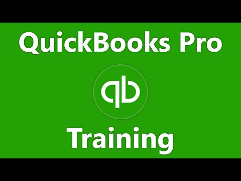 QuickBooks Pro 2017 Tutorial Assets and Liabilities Intuit Training