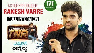 Frankly With TNR #171 - Exclusive Interview || Talking Movies With iDream