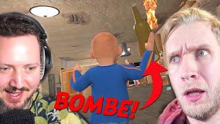 Grib Min BOMBE, Elg! - Granny Simulator *HALLOWEEN* med @Den Mandige Elg