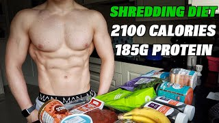Full Day of Eating (Cutting) on 2100 Calories | High Protein Fat Loss Diet...
