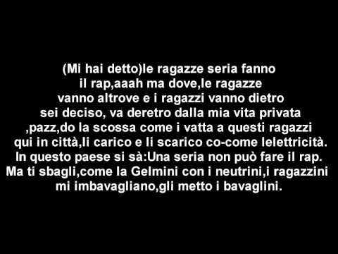 Baby K - Una seria (Testo-Lyrics)