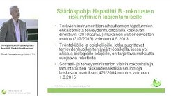 Terveydenhuollon opiskelijoiden hepatiitti B-rokotukset kuntoon