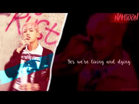 BTS Namjoon & Taehyung (RM&V) - 네시 (4 O'CLOCK) [Lyrics Han|Rom|Eng]
