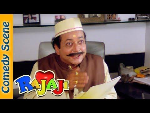 Govinda Comedy Scene - Rajaji Movie - Dinesh Hingoo - Satish Kaushik - #IndianComedy