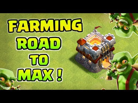 Townhall 11 Crazy Farming Attacks ! Road to max
