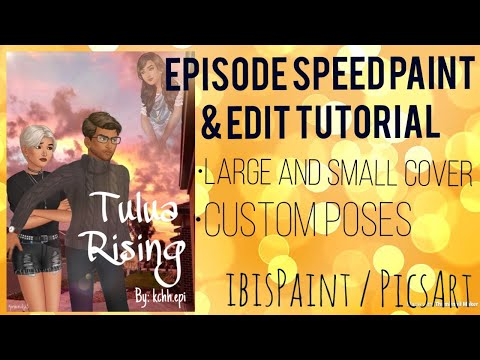 Episode Interactive Cover Speed Edit / ibisPaint / PicsArt - Edit 4