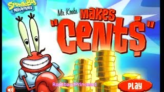 Spongebob Squarepants Games - Mr Krabs Makes Cents - Spongebob Free Online Games