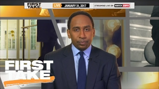 LeBron James Is Scared Of Golden State Warriors' Reign | Final Take | First Take | February 1, 2017