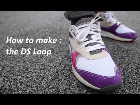 How to lace your sneakers ''DS-Loop''