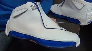 Презентация #233 - Кроссовки Air Jordan 18 - SoleFinder.ru(Достаём из коробки легендарные Джордан 18! Не ретро какое-то, а оригинальный выпуск 2003 года! Именно в них..., 2015-05-15T08:25:36.000Z)
