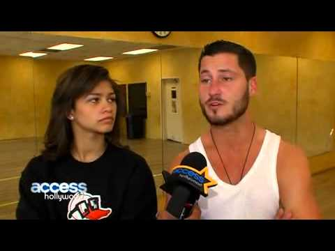 Zendaya & Val Chmerkovskiy Discuss Their Dancing Strategy