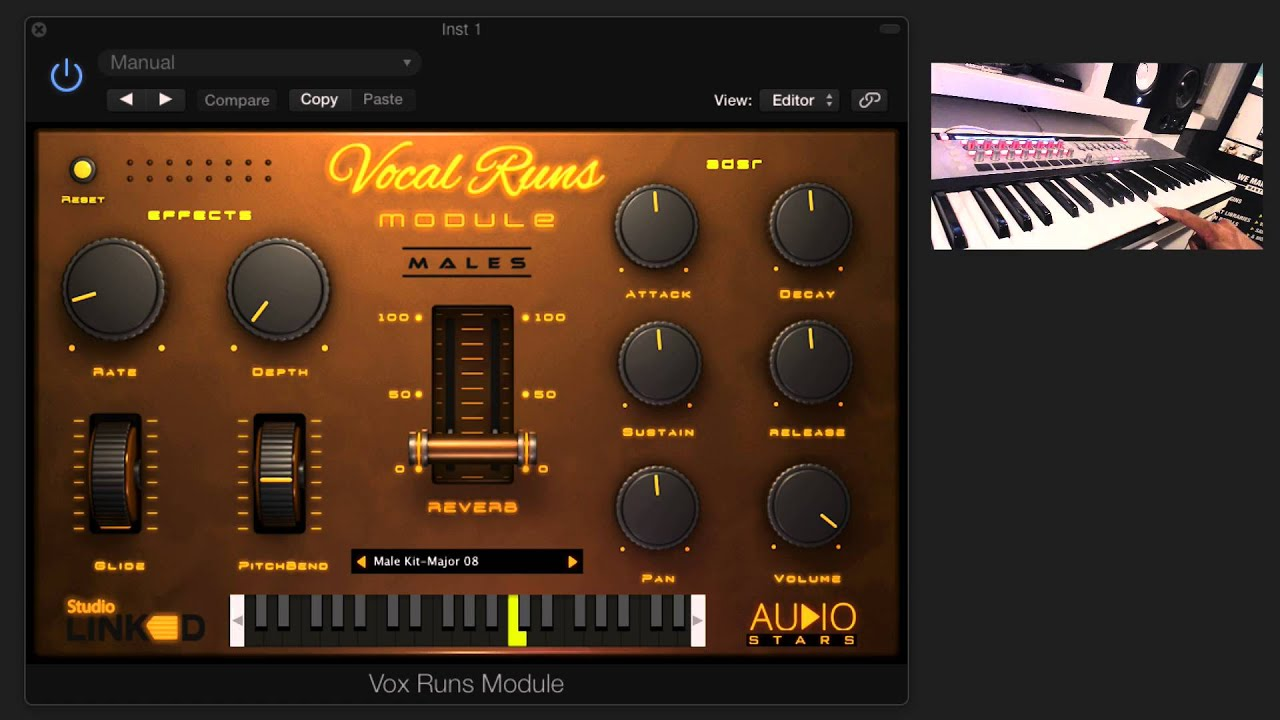 studiolinked vocal runs module vst au doovi. Black Bedroom Furniture Sets. Home Design Ideas