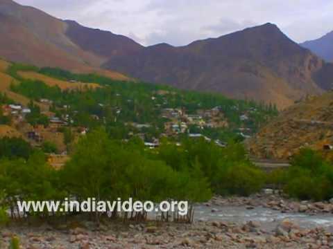 Suru river of Kashmir