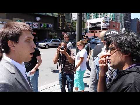 Heated Israel/Palestine Debate | Activist Vs. Lawyer | Montreal