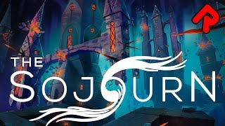 THE SOJOURN gameplay: Gorgeous 3D Puzzler for The Witness fans! (PC, PS4, Xbox One game)