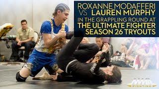 TUF 26 Tryouts: Roxanne Modafferi vs. Lauren Murphy Grappling Round