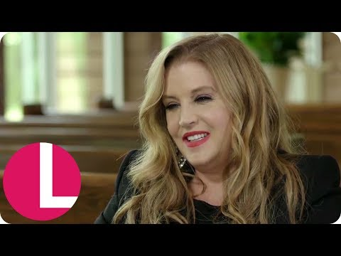 Lisa Marie Says She Felt Elvis Presley's Helping Hand When Recording   Lorraine