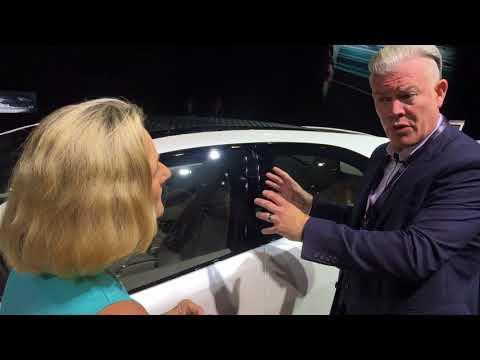 Jaguar designer Wayne Burgess talks Jaguar electric SUV I-Pace concept at Frankfurt Auto Show (IAA)