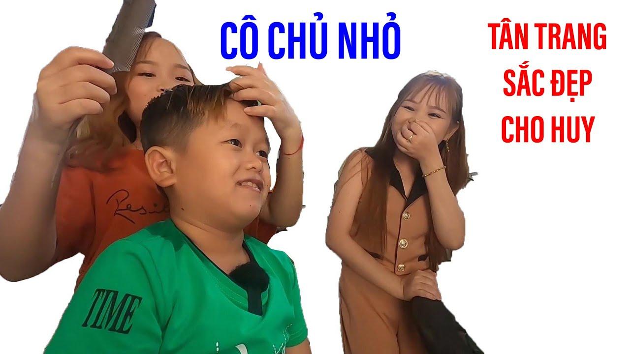 Cô chủ nhỏ làm đẹp cho Huy Tí Hon trước khi tái ngộ cô nàng bé bỏng nhất VN II ĐỘC LẠ BÌNH DƯƠNG
