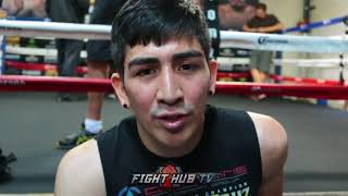 Leo Santa Cruz on his dad battling cancer while he trains him for Abner Mares
